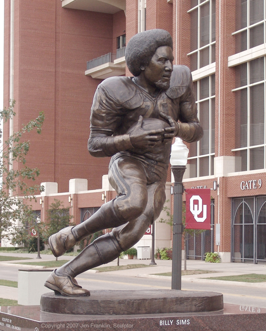Click to see more of Billy Sims at OU