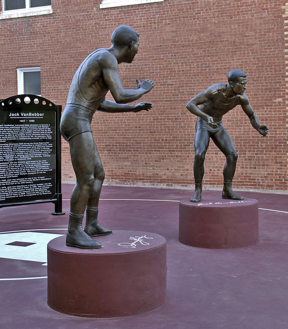 Perry Wrestling Monument park